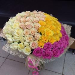Букет «101 роза микс»