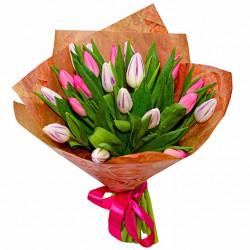 Букет «21 тюльпан»