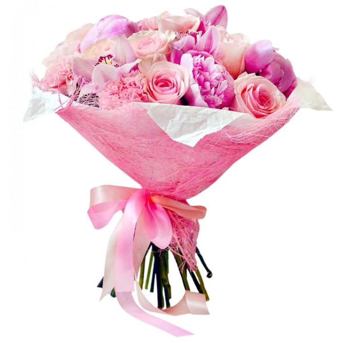 Букет «Розовые облака»<br />